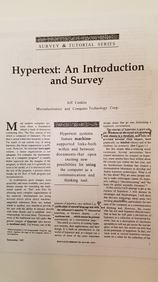 HypertextConklin