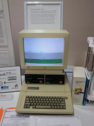 Apple with TI-99 Sprite Board