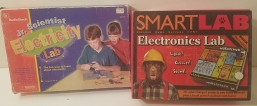 Radio Shack Electricity Lab and Smart Lab Electronics Lab