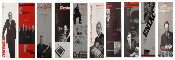 The Computer Museum Pioneers Speaker Series Posters