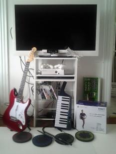 Xbox 360 + Rockband