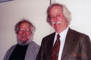 Bob & Seymour (copyright 2010, Robert W. Lawler)