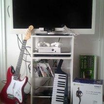 Xbox 360 with Rockband