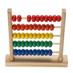 Toy Abacus with Directions for Instruction