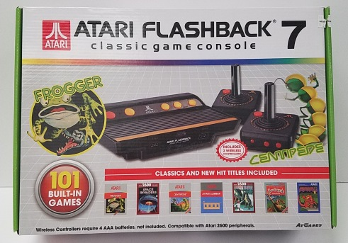 Atari Flashback 7 Classic Game Console with Joystick