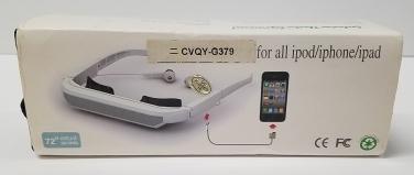 Iwear 72-inch Virtual Screen for ipod/iphone/ipad