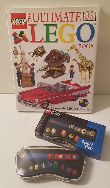 Lego Book & Pens