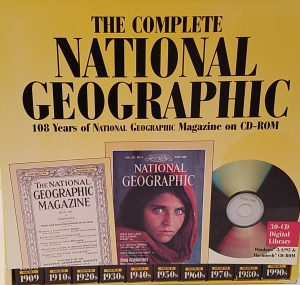 The Complete National Geographic: 108 Years of National Geographic Magazine on CD-ROM