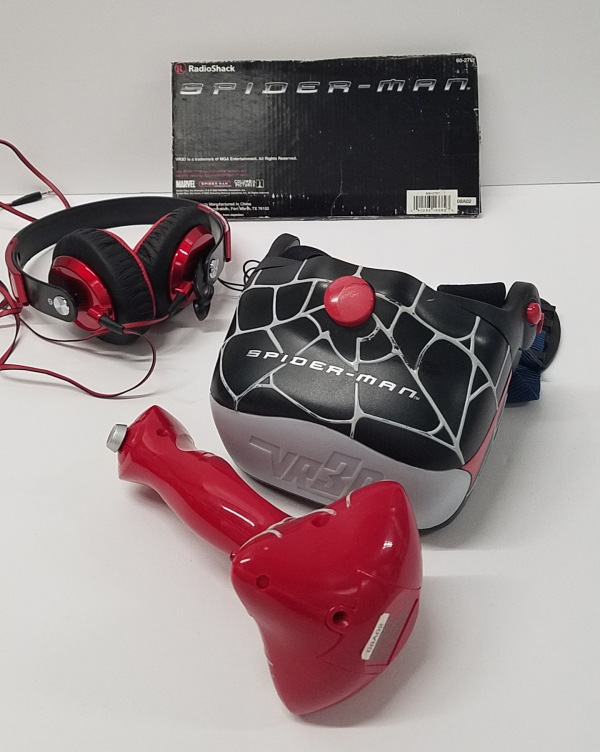 Spider-Man VR3D Game from RadioShack