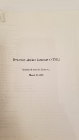 Hypertext Markup Language (HTML) Cover