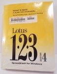 Lotus 123 Version 4.01